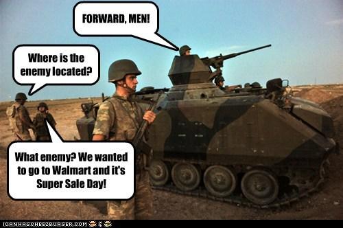 prepared,enemy,forward,sale,army,Walmart