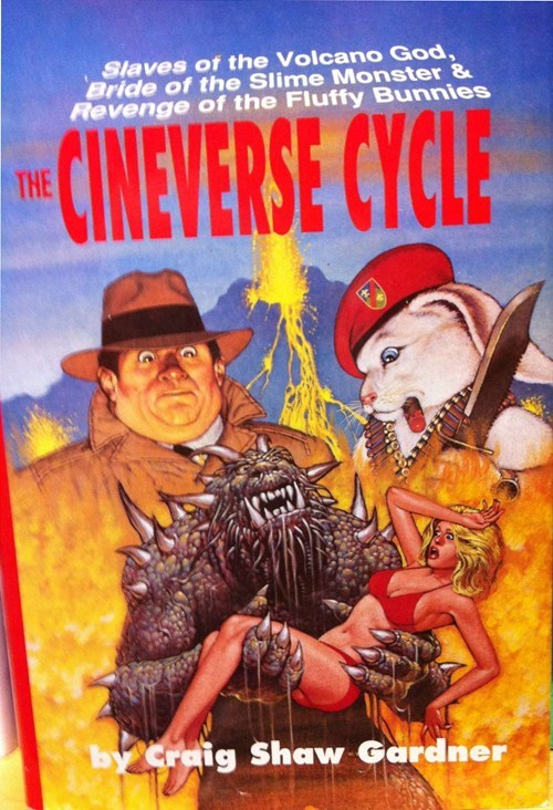 WTF Sci-Fi Book Covers: The Cineverse Cycle