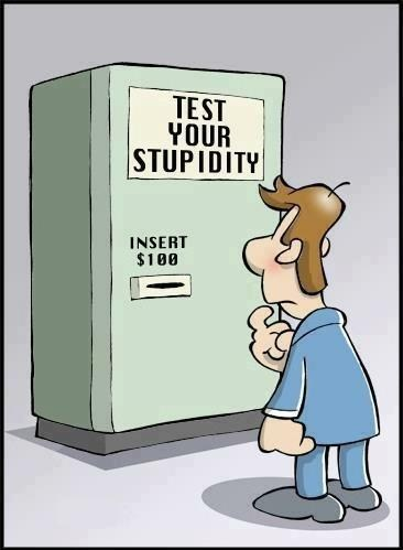 shoppers beware,test,comic,genius,stupid