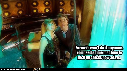 Catherine Tate,David Tennant,nowadays,the doctor,doctor who,time machine,picking up chicks,donna noble