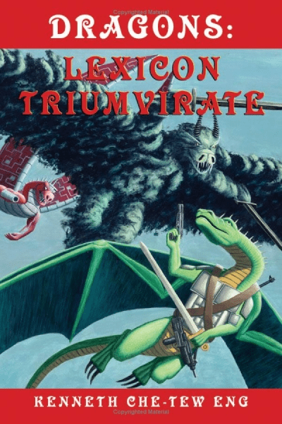 WTF Sci-Fi Book Covers: Dragons: Lexicon Triumvirate