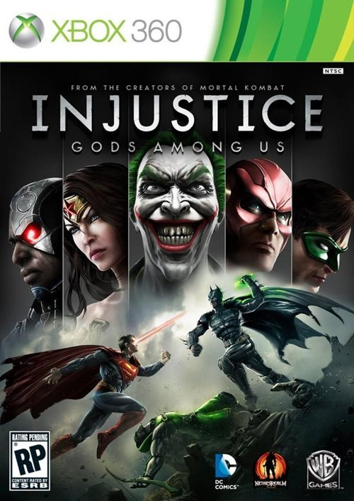 Injustice Boxart of the Day
