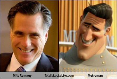 Mitt Romney Totally Looks Like Metroman