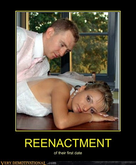 reenactment,first date,wtf