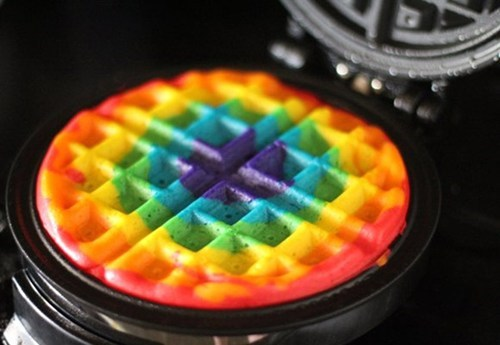 Rainbow Waffles WIN