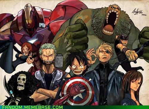 Avengers no Kaizoku Dan