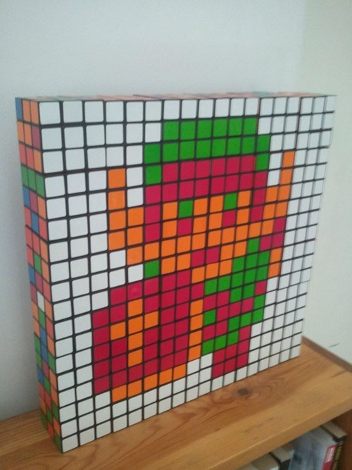 Rubik's Cube Art of the Day
