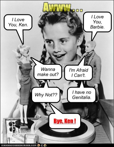 The Barbie/Ken Modern Love Story