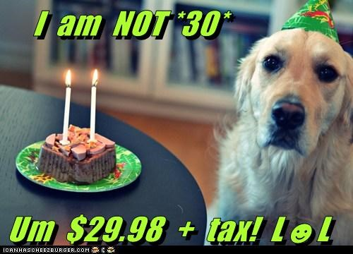 I  am  NOT *30*  Um  $29.98  +  tax!  L☻L