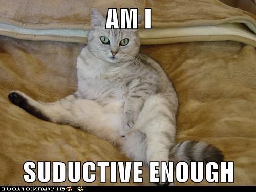 AM I  SUDUCTIVE ENOUGH