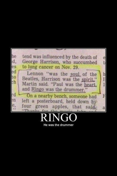 And Then There Was Ringo...