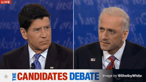 It Wouldn't Be a Debate Without Swapped Haircuts