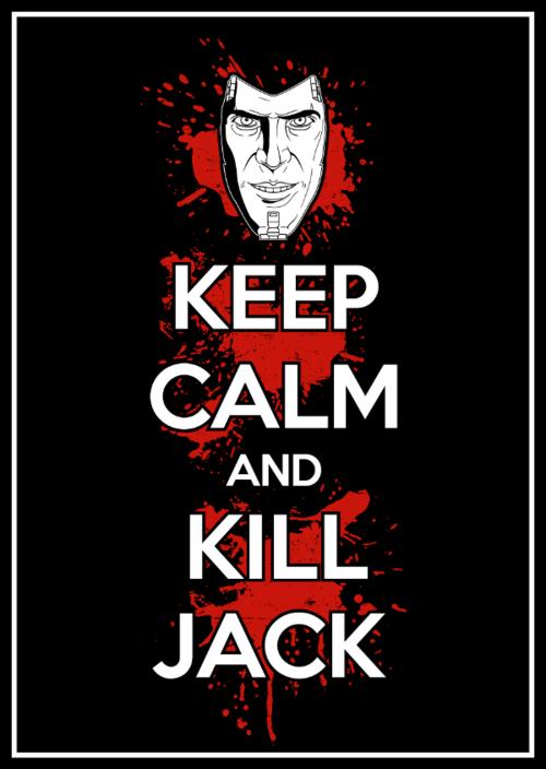 handsome jack,borderlands 2,keep calm,meme