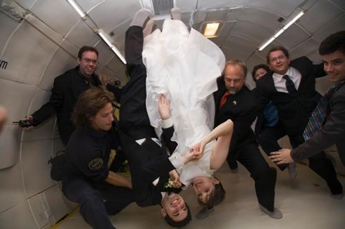 Zero Gravity Wedding