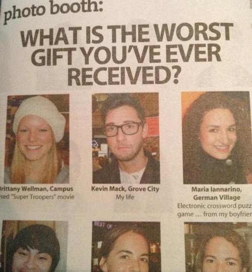 gifts,gift giving,emo,ouch,christmas,present