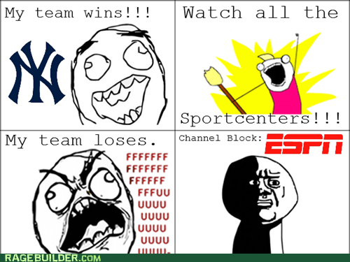Watch all the Sportcenters!!