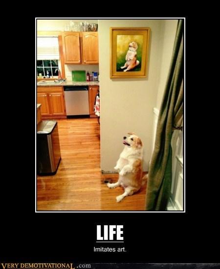 life,art,dogs