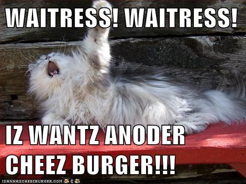 WAITRESS! WAITRESS!