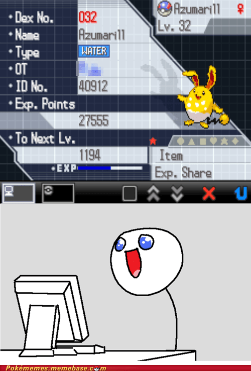 That Awesome Moment When You Get Your Favorite Shiny Pokémon