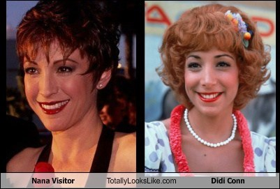 Nana Visitor Totally Looks Like Didi Conn