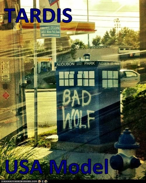 TARDIS   USA Model