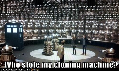 Who stole my cloning machine?