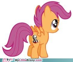 Scootaloo is best KFC
