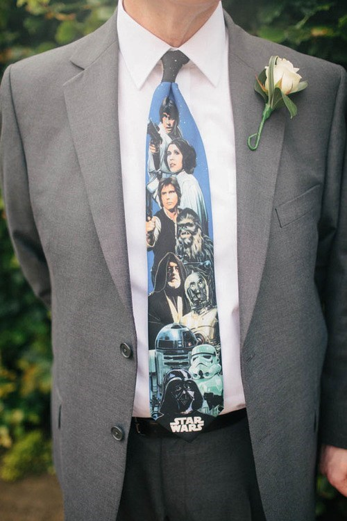weddings,ties,star wars