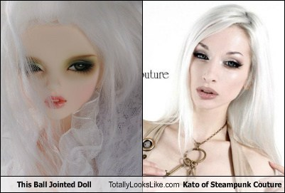 This Ball Jointed Doll Totally Looks Like Kato of Steampunk Couture