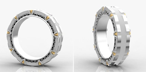 Stargate Wedding Band