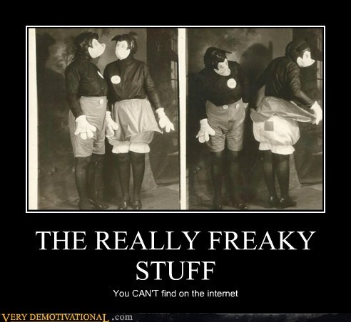 THE REALLY FREAKY STUFF