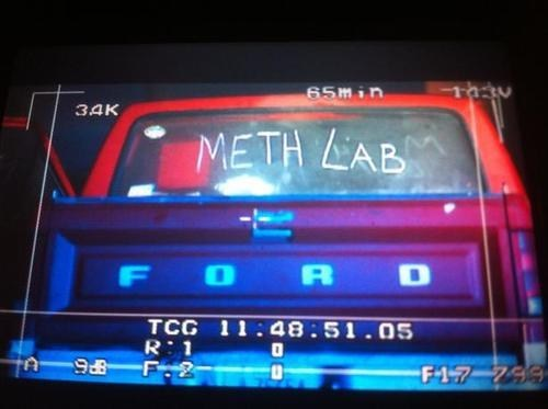 Probably bad News,news,meth,arrest,truck