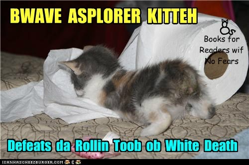 A new BWAVE ASPLORER KITTEH book!