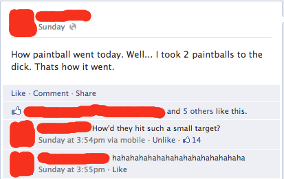 Argh, My Paintballs!
