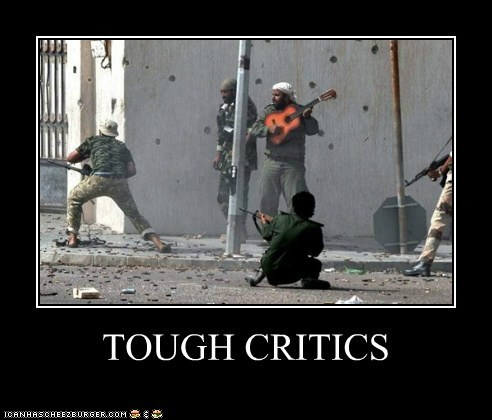 TOUGH CRITICS