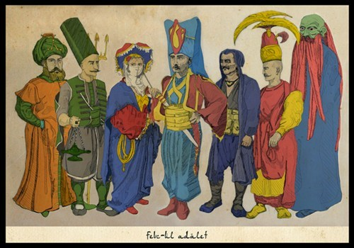 Ottoman Empire Justice League of the Day