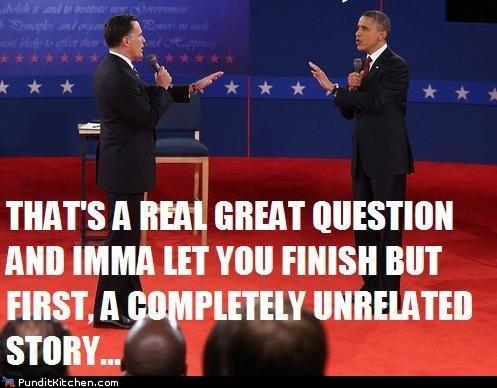 Interrupting Obama/Romney