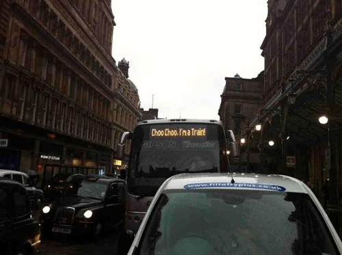 Go Home Bus, You Are Drunk