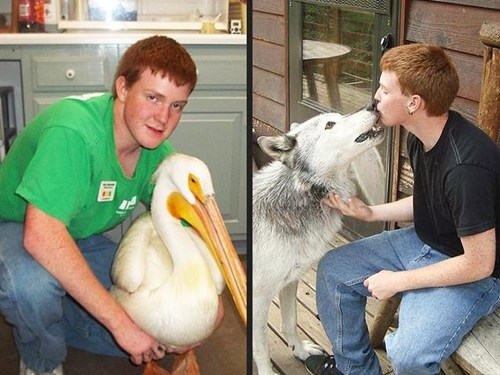 Around the Interwebs: 16-Year-Old Boy Vows to Take Pictures with Every Animal on the Planet