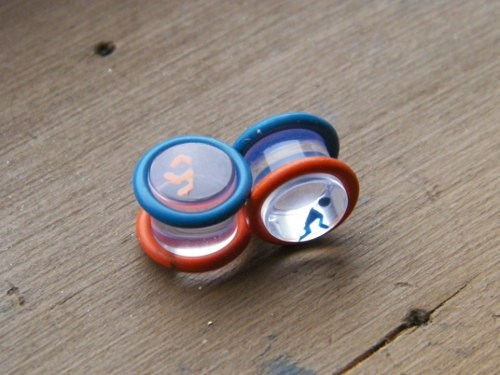 earrings,plugs,Portal,video games