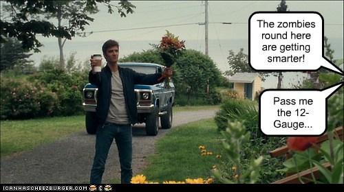 zombie,lucas bryant,haven,flowers,shotgun,coffee,smarter,nathan wuornos,trick