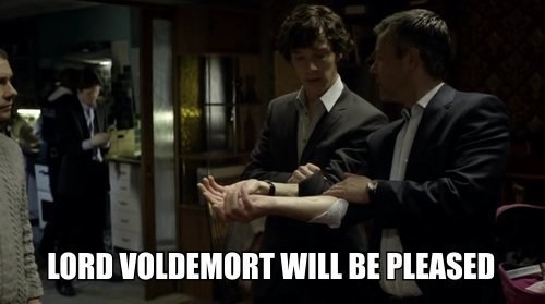Sherlock,bbc,Harry Potter,crossover