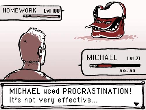 homework,school,Battle,procrastination