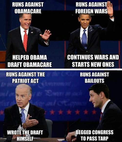 Mitt Romney,barack obama,joe biden,paul ryan,obamacare,promises,campaign