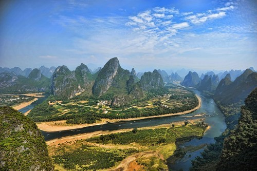 The Lijiang River in China