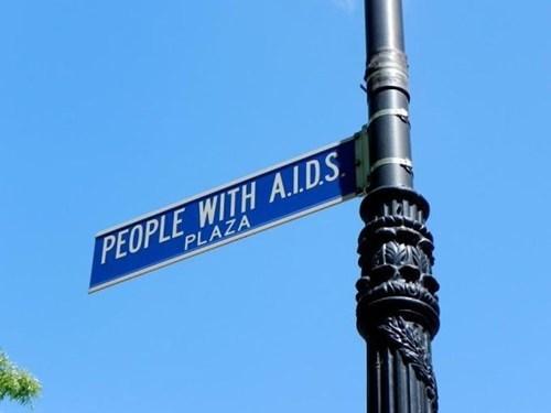 specific,sign,aids,street,weird,what