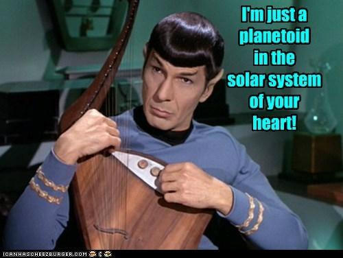 Music,singing,Spock,instrument,Leonard Nimoy,solar system