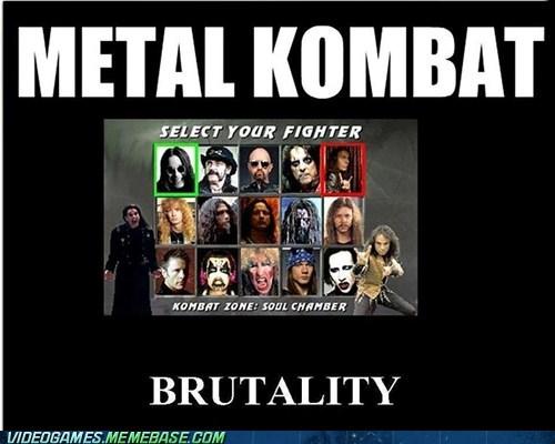 Mortal Kombat,metal,Music