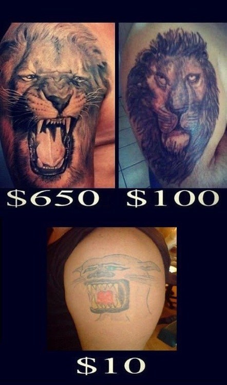 Suddenly, the $100 Tat Doesn't Seem So Bad