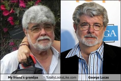 My Friend's Grandpa Totally Looks Like George Lucas